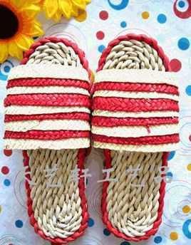 各种凉拖鞋的编法