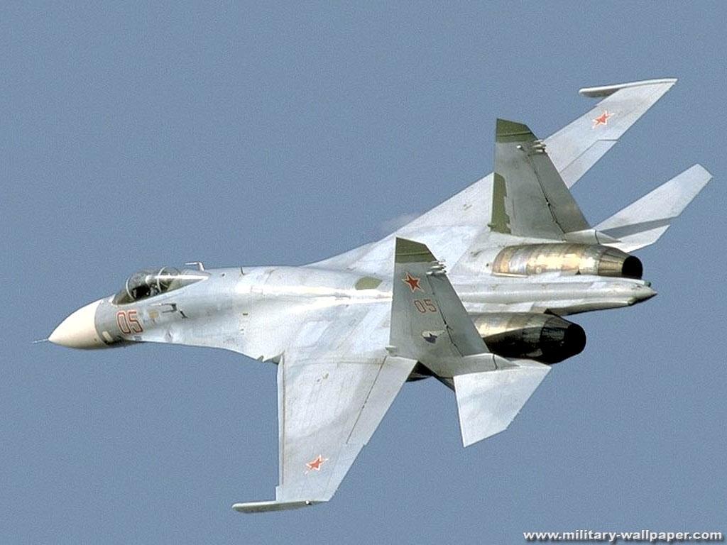 飞机大全图(苏-27战斗机)