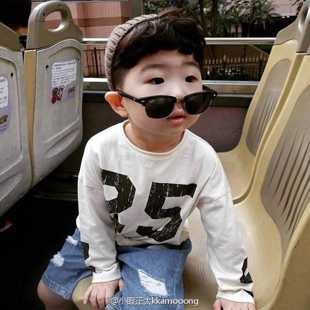 韩国小孩头像