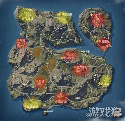 [荒野行动PC] 荒野行动地图攻略之滨海镇人头收割技巧 详解怎么玩