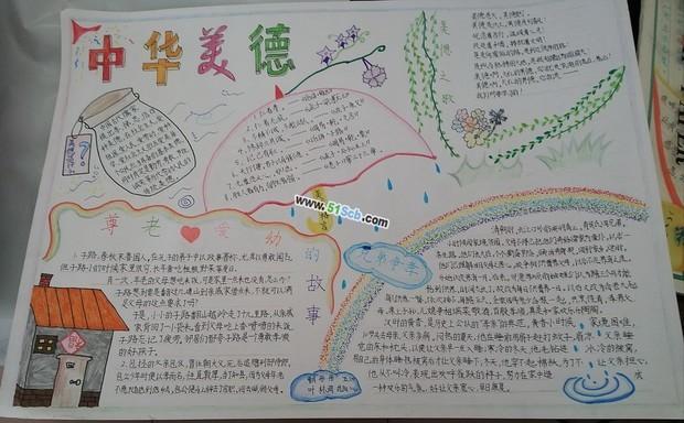 传承中华文化 共筑精神家园手抄报