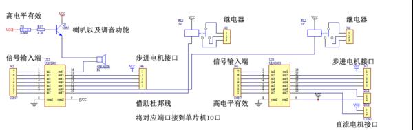 3.3v的51单片机p2口接uln2003接28byj-48步进电机要如何接?