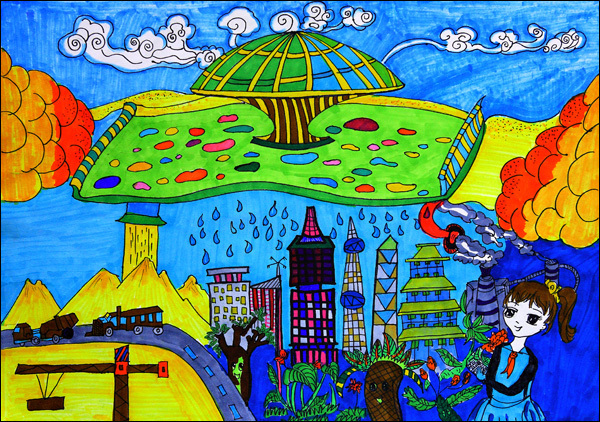有关梦想的绘画作品图片