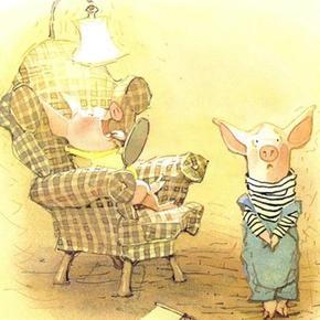《睡前故事-《小猪熬夜》》