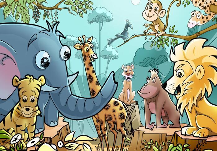 丛林里的小动物_360百科