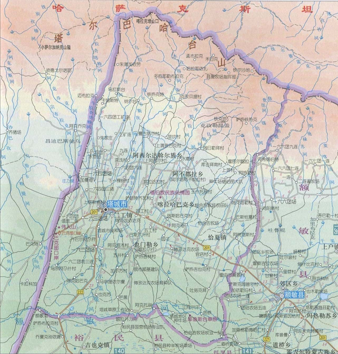 隋朝时朝鲜半岛地图