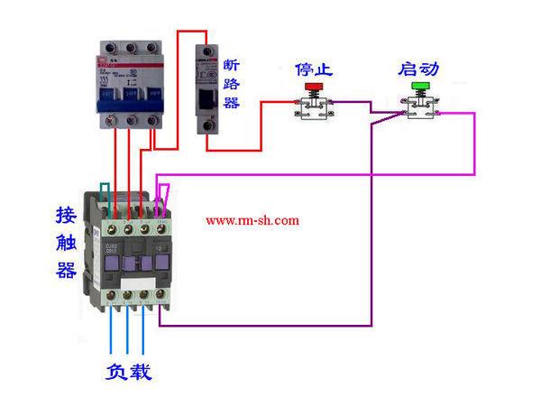 >>380v交流接触器接线图